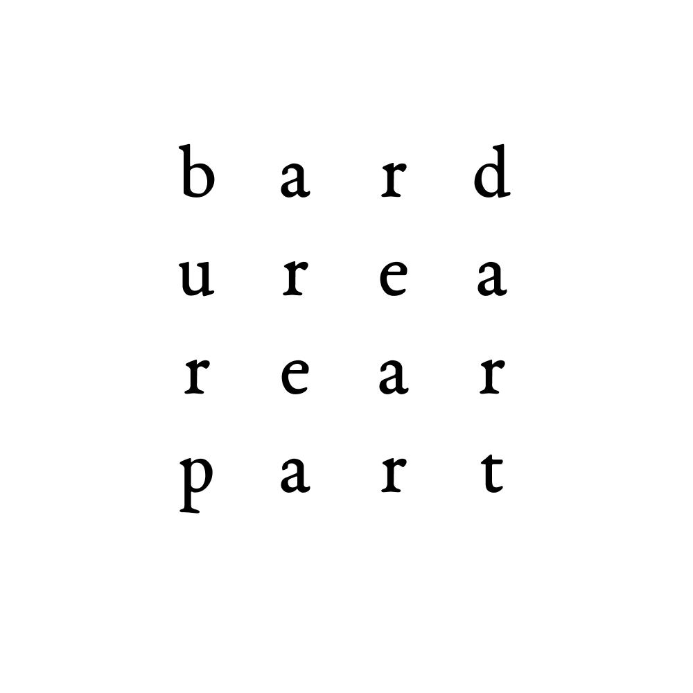 bard urea rear part