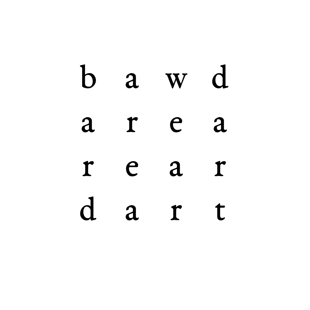 bawd area rear dart