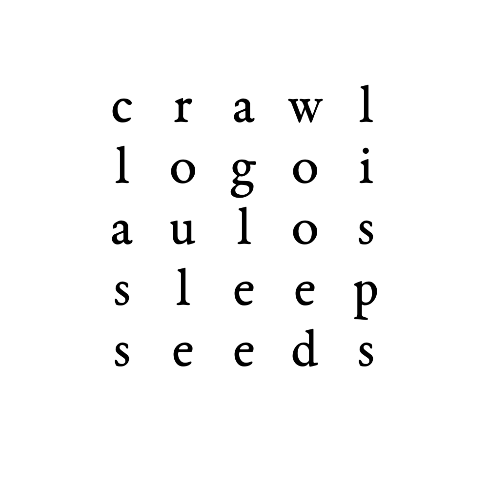 crawl logoi aulos sleep seeds
