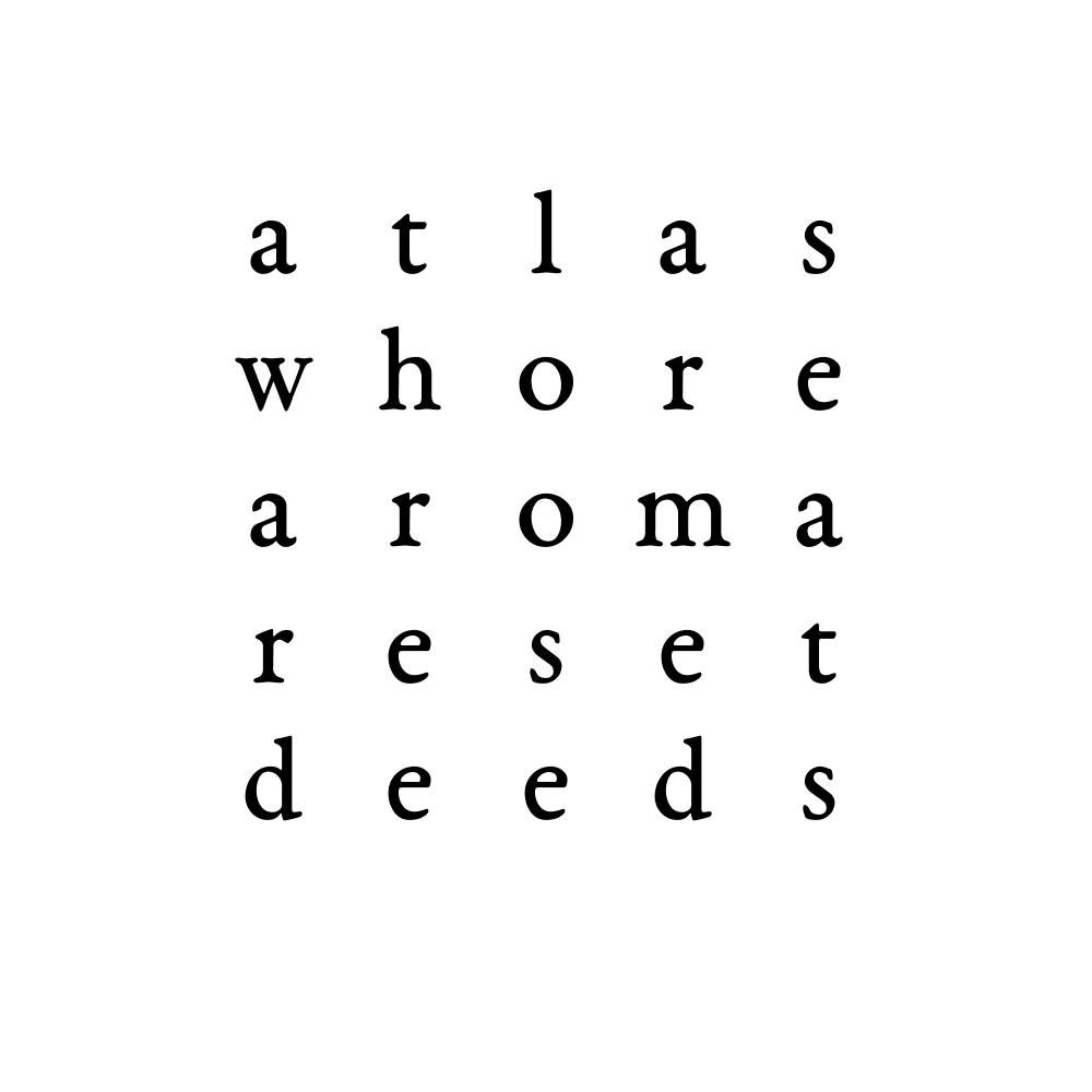 atlas whore aroma reset deeds