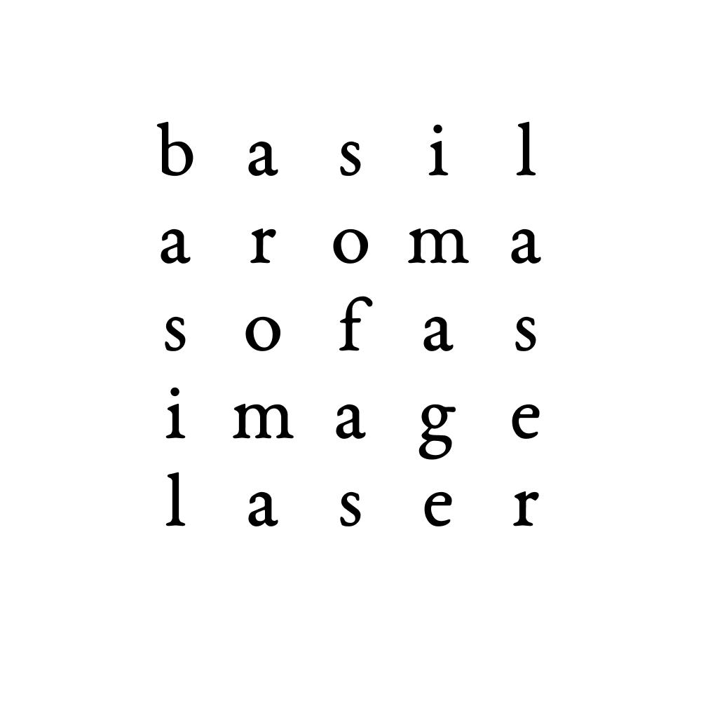 basil aroma sofas image laser