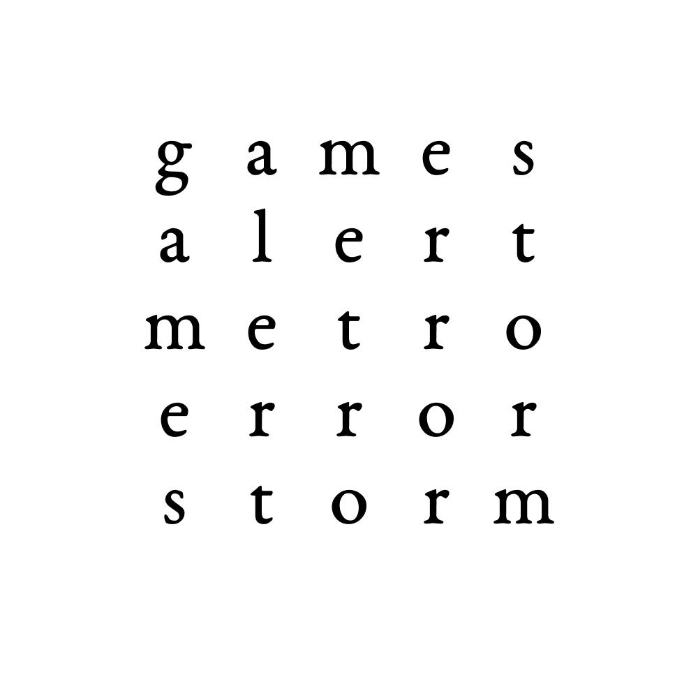 games alert metro error storm