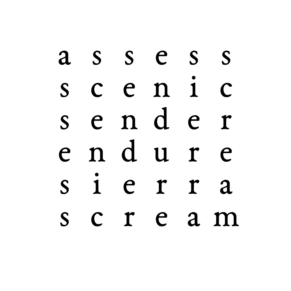 assess scenic sender endure sierra scream