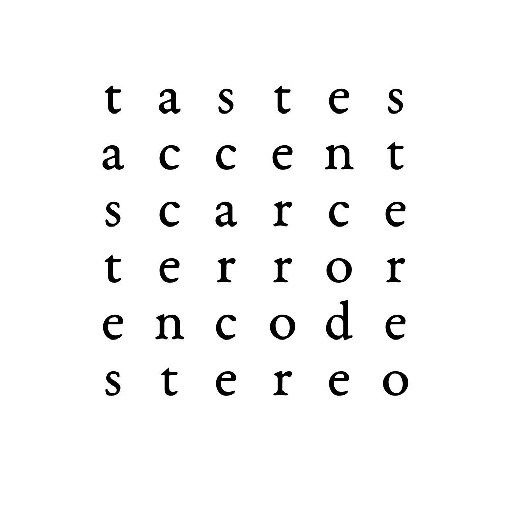 tastes accent scarce terror encode stereo