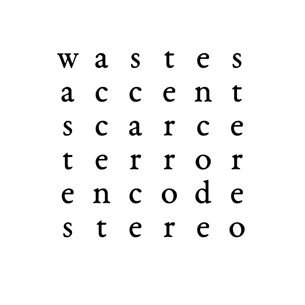 wastes accent scarce terror encode stereo