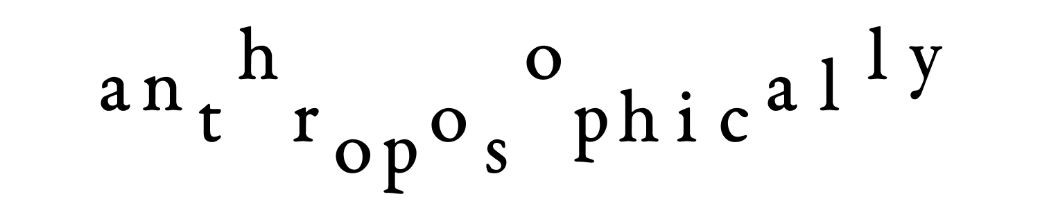 anthroposophically trophic anal holy ops