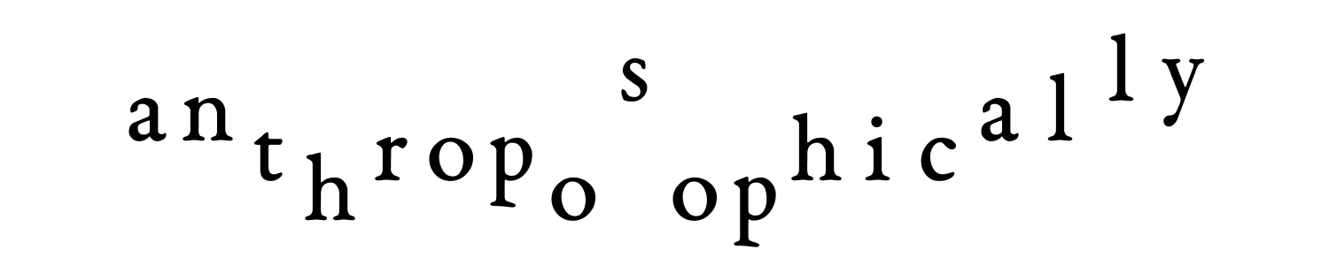 anthroposophically trophic hoop anal sly